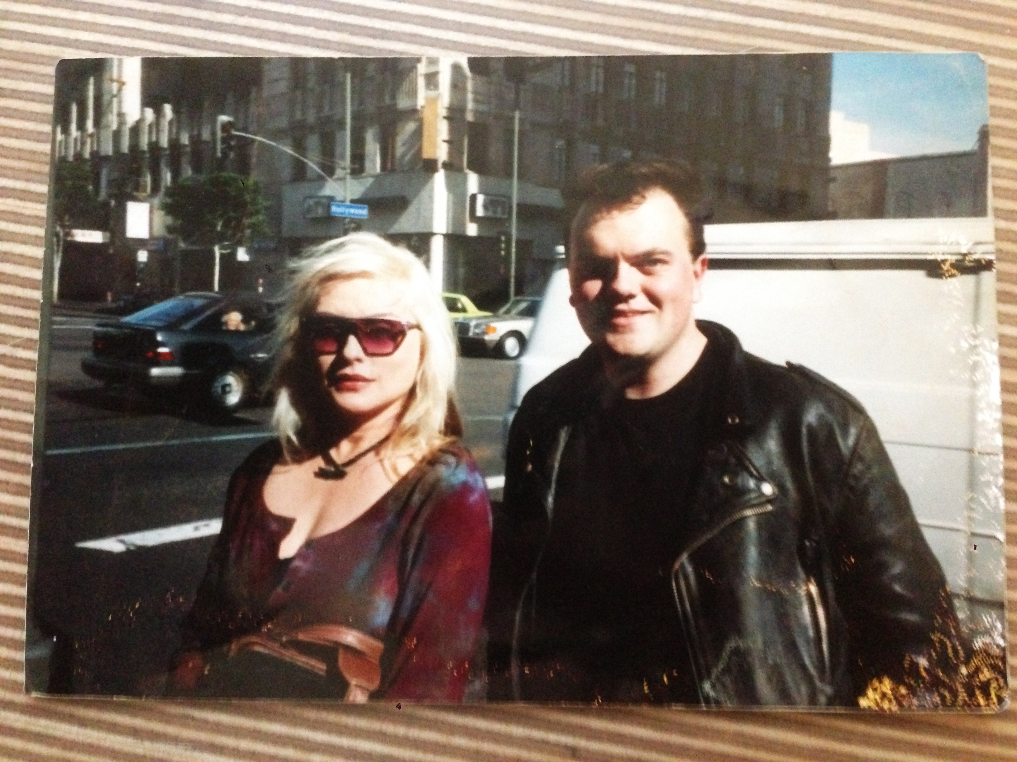 I MET DEBBIE HARRY IN HOLLYWOOD