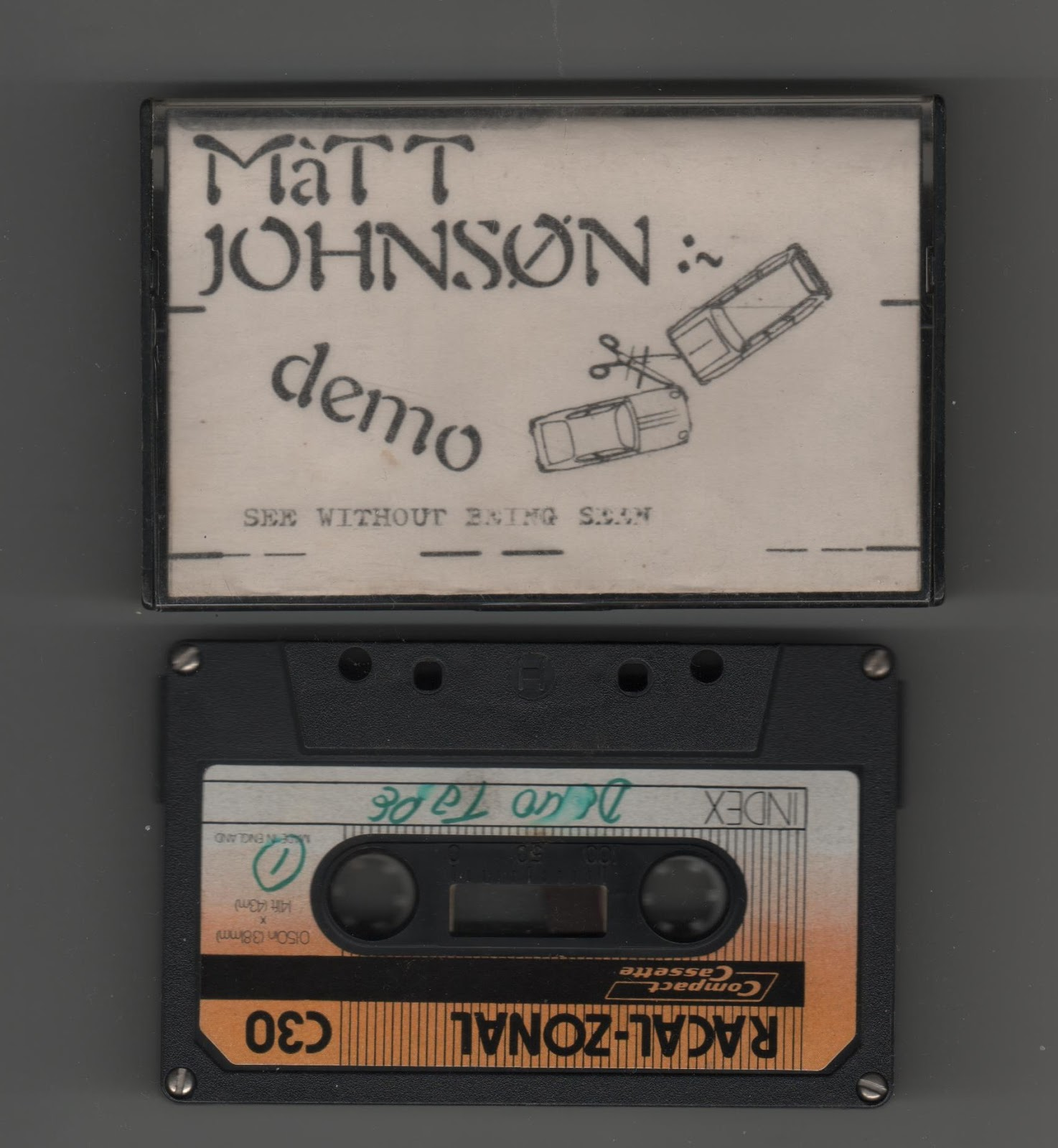 Matt Johnson - See Without Being Seen