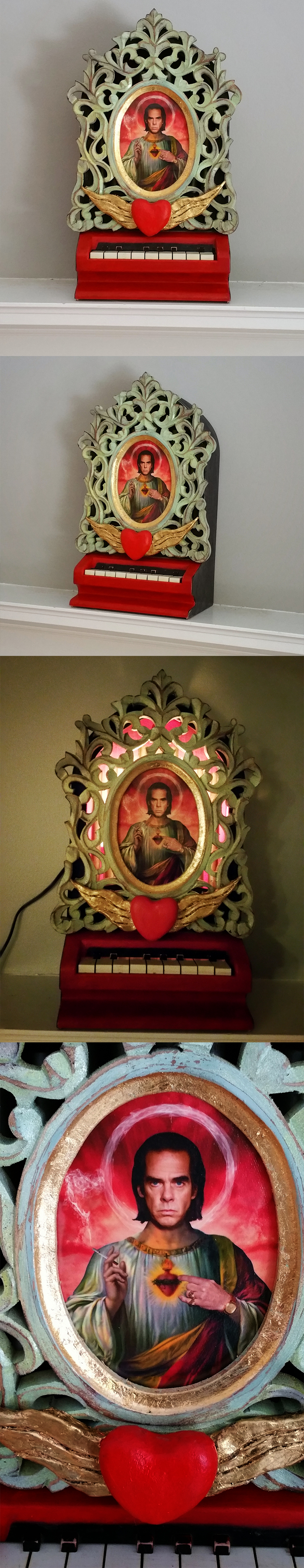 The image for item with title Nick Cave Shrine #1 by John Geralis